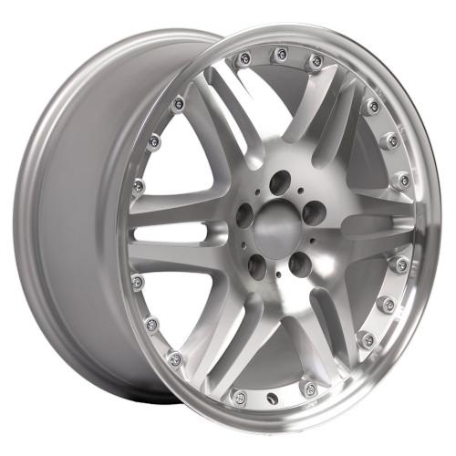 "18"" Fits Mercedes Benz Monoblock Split Spoke Wheel Silver 18x8.5"" Rim"
