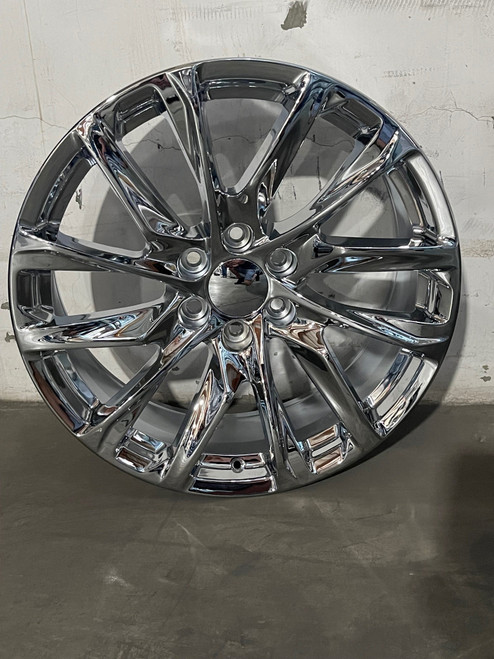 "Cadillac Escalade 2021 GMC Suburban Tahoe Wheels Rims Chrome Set of 4 22x9"" FITS NEW BODY"