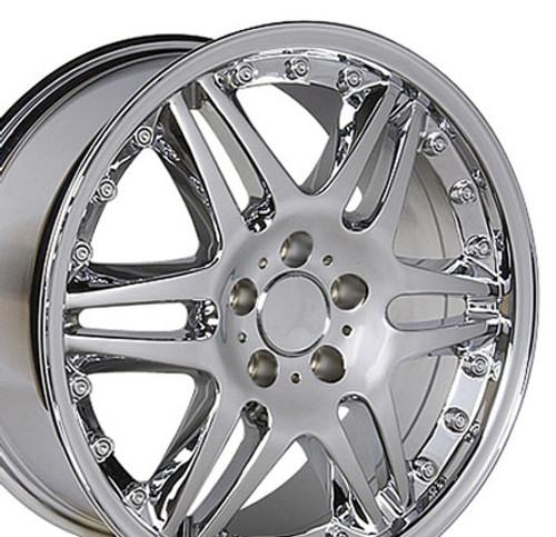 "18"" Fits Mercedes Benz Replica Wheel - Chrome 18x9.5"