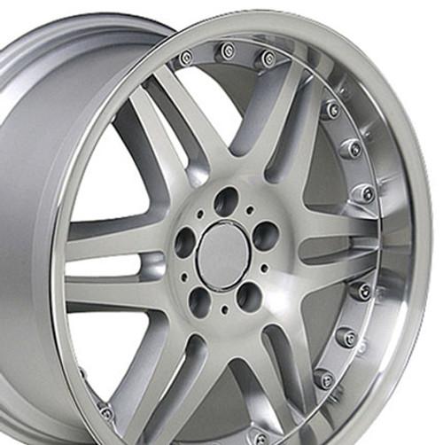 "18"" Fits Mercedes Benz Monoblock Split Spoke Wheel Silver 18x9.5"" Rim"