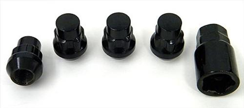Black Locking Lug Nuts  Set of 4