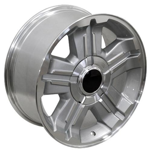 "18"" Fits Chevrolet Z71 Wheel Rim Silver 18x8  Hollander # 5300 Rim"