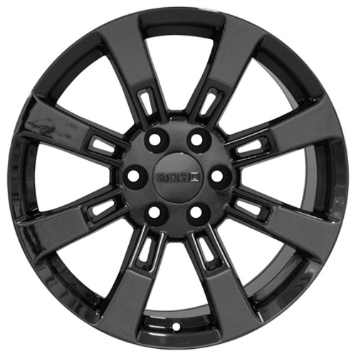 20 Fits Cadillac Escalade Gmc Suburban Tahoe Wheels Rims Pvd Black