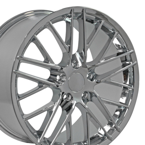 18 Chevrolet Corvette C6 Zr1 Wheel Chrome 18x9 5 Rim