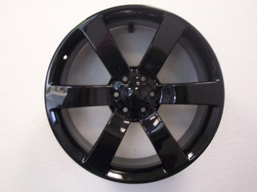 """22"""" Chevy Trailblazer SS Style fits Silverado 1500 Tahoe Wheels Rims Gloss Black Set of 4 22x9"""" Rims"""