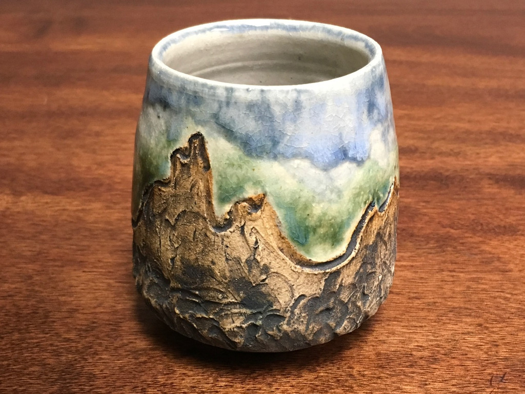 Mountain Cup, roughly 12-13 Ounce Size (SK465)