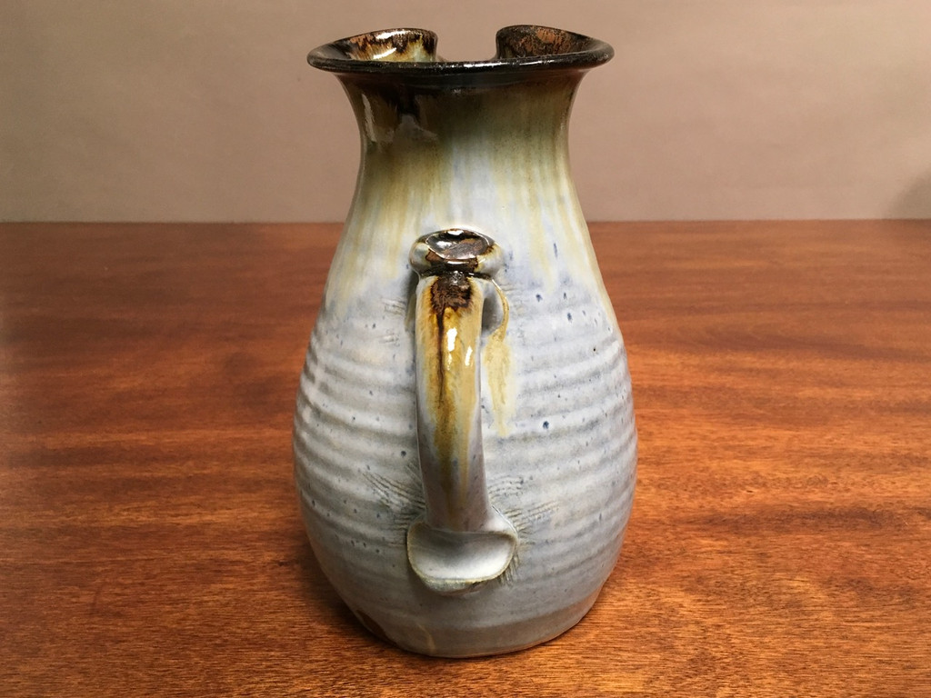 Experimental Pitcher, roughly 8.5 inches tall by 5 inches wide, (SK2907)