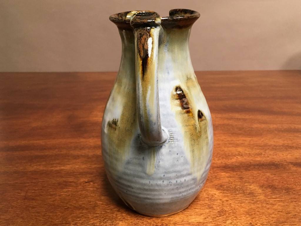 Experimental Pitcher, roughly 8.5 inches tall by 5 inches wide, (SK2908)