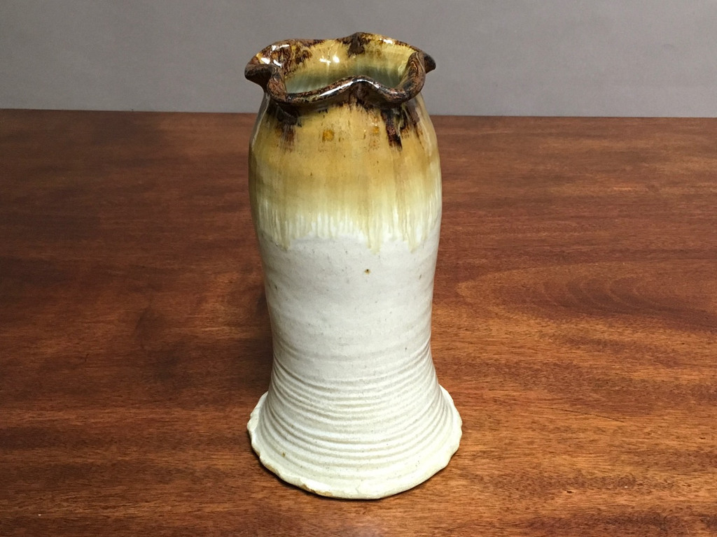 Flawed Nuka Iron Wedding Vase, roughly 10 inches tall, (SK3073)
