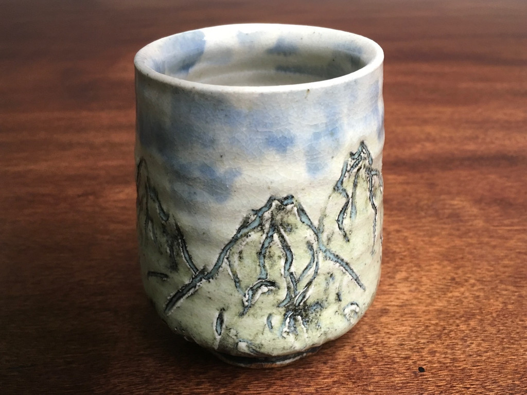 Mountain Cup, roughly 10-12 Ounce Size (SK3362)
