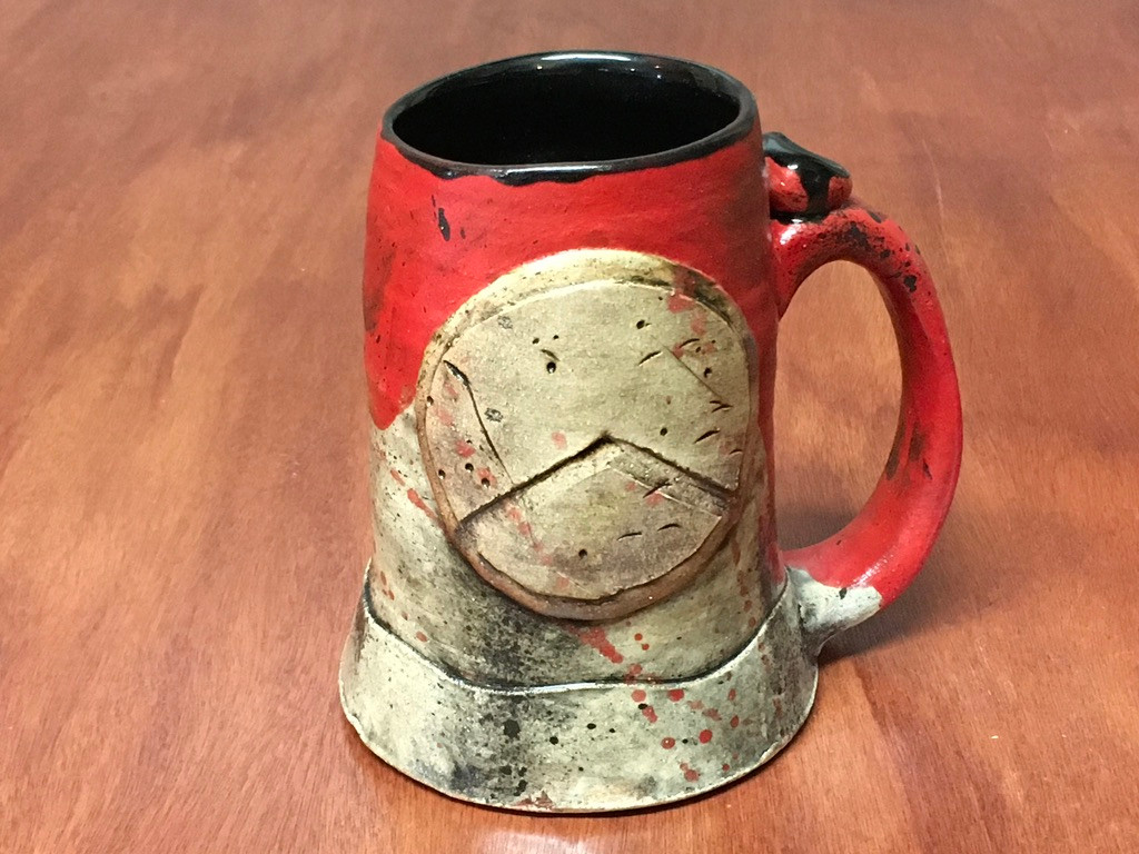 'Kothon' Spartan Mug, roughly 16-18 ounce size (SK5241)