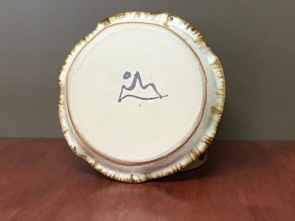 Nuka Iron Salad Plate, roughly 8 inches wide (SK5631)