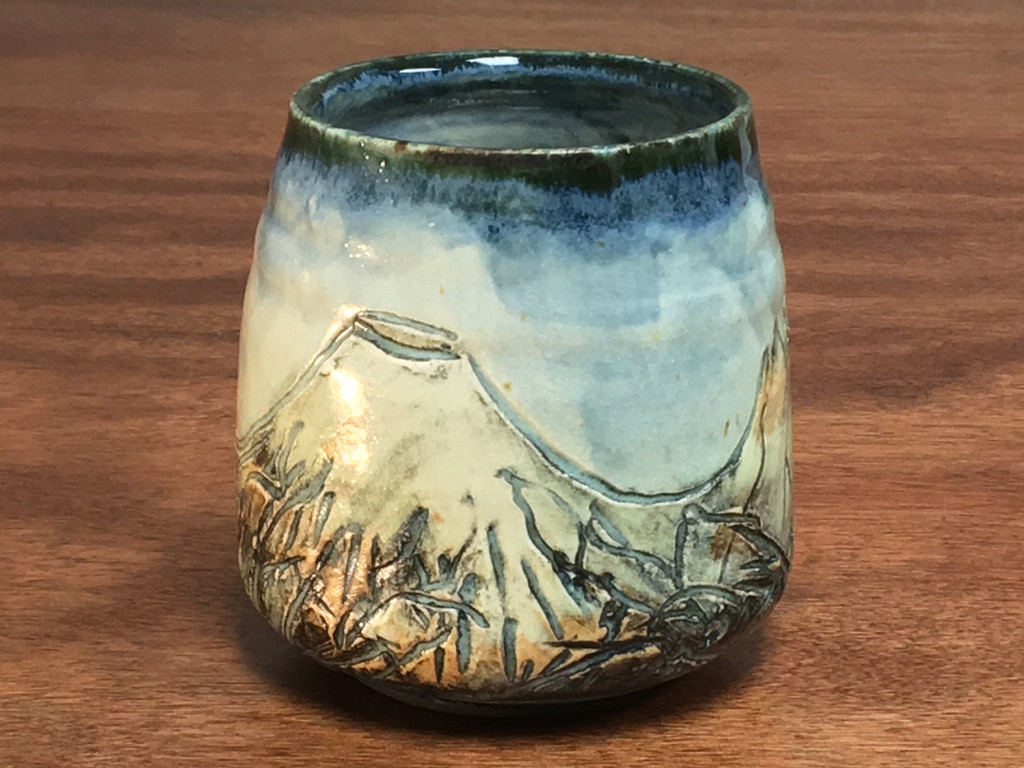 Mountain Cup, roughly 11-12 Ounce Size (E113)