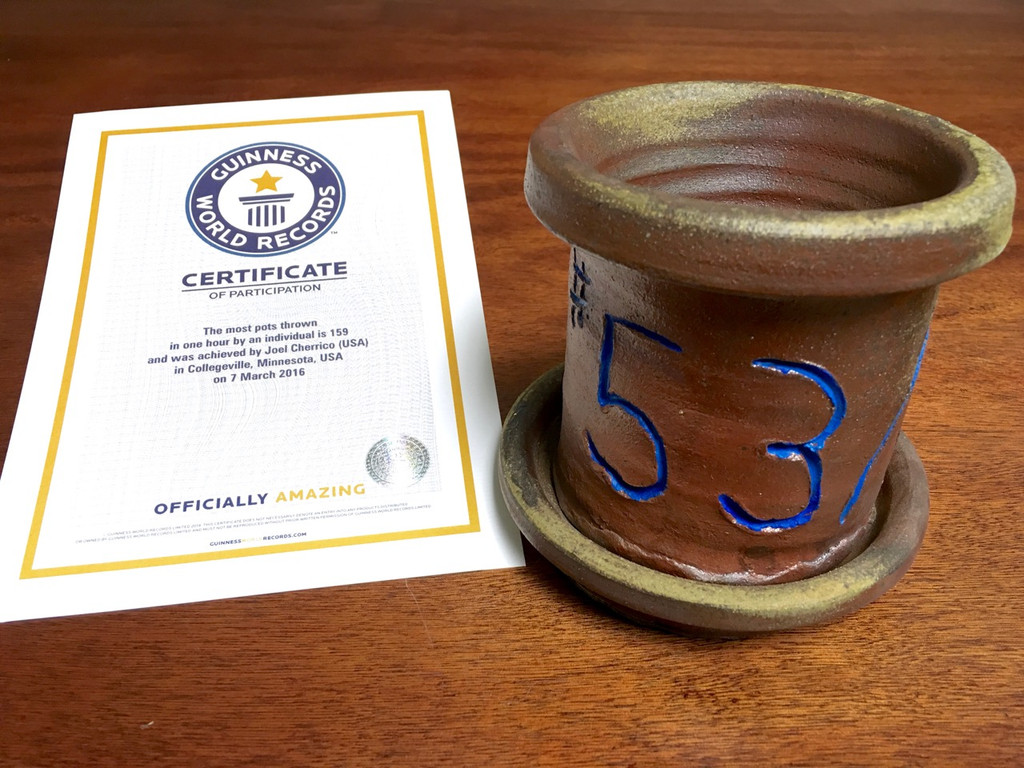 World Record Planter #53/159 and Certificate of Authenticity