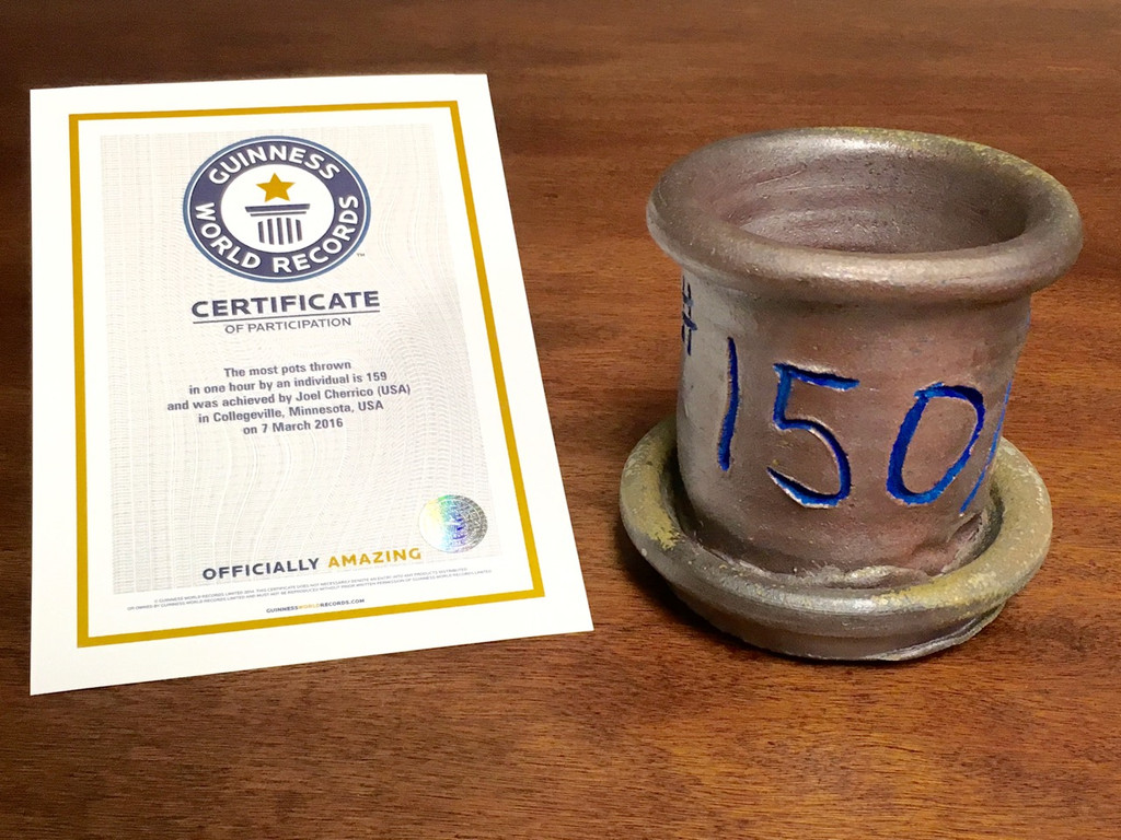 World Record Planter #150/159 and Certificate of Authenticity