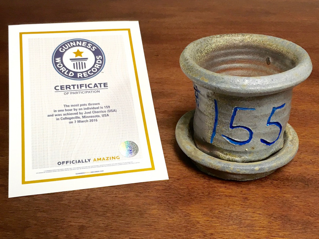 World Record Planter #155/159 and Certificate of Authenticity