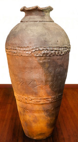 Woodfired Jar, Roughly 32 Inches Tall by 16 Inches Wide: $17,995