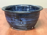 Blue Nuka Cobalt Serving Bowl, Roughly 8.5 Inches Wide by 4 Inches Tall (SK 4605)