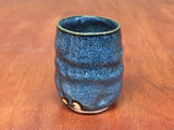 Blue Nuka Cobalt Cup, roughly 10-12 ounce size (SK4895)