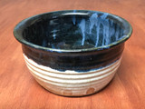 Blue Nuka Cobalt Serving Bowl, Roughly 7.5 Inches Wide by 3.5 Inches Tall (SK4921)