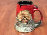'Kothon' Spartan Mug, roughly 12-14 ounce size (SK5091)