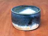 Small Blue Nuka Cobalt Serving Bowl, roughly 4.5 inches wide by 2.5 inches tall,  (SK5197)
