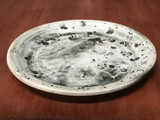 Lunar/Moon Salad plate, roughly 8 inches wide (SK5584)