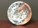 Lunar/Cosmic Dinner plate, roughly 10.5 inches wide (SK5590)