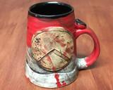 'Kothon' Spartan Mug, roughly 14-16ounce size (SK5601)
