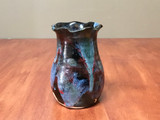 Cosmic Vase, roughly 6 inches tall, Inspired by a Planetary Nebula (SK5751)