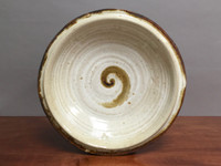 """Wall Platter Inspired by Historical Artists, Nuka Iron, Roughly 17.5"""" diameter by 3.5"""" tall (ST351)"""