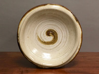 """Wall Platter Inspired by Historical Artists, Nuka Iron, Roughly 14.5"""" diameter by 3.5"""" tall (ST350)"""