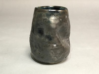 Meteor Cup with a Blue Nebula Interior, roughly 12-14 ounce size, (SK296)