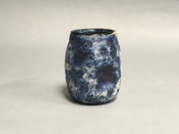 Blue Moon/Lunar Cup, roughly 12-14 ounces, Inspired by the Lunar Surface and Asteroid 243 Ida (SK307)