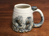 Mountain Mug, roughly 12-14 Ounce Size (SK2302)
