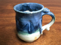 Nuka Cobalt Mug, Roughly 10-12 Ounces (SK2797)