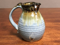 Experimental Pitcher, roughly 6 inches tall by 4.5 inches wide, (SK2911)