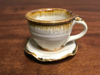 Nuka Iron Tea Cup and Saucer, Roughly 6-8 Ounce Size (SK2966)