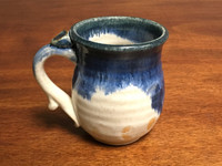 Discounted Nuka Cobalt Mug, Roughly 10-12oz size, (SK3136)