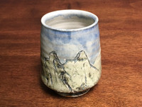 Mountain Cup, roughly 8-10 Ounce Size (SK3393)