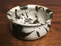 Experimental Serving Bowl, roughly 3 inches tall by 7 inches wide,  (SK3463)