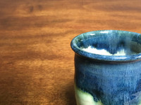 Nuka Cobalt Cup, roughly 11-13 ounce size (SK3464)