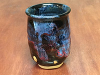 """Cosmic Cup, roughly 10-12oz size, Inspired by a """"Planetary Nebula"""" (SK3970)"""