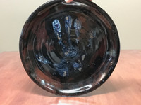 Hand Cosmic Dinner Plate, roughly 10.5 inches wide (SK3975)