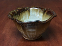 Nuka Iron Bowl, roughly 6 inches wide by 3.5 inches tall, (SK5558)