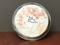 Lunar/Cosmic Dinner plate, roughly 10.5 inches wide (SK5592)