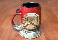 'Kothon' Spartan Mug, roughly 16-18ounce size (SK5656)