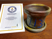 World Record Planter #113/159 and Certificate of Authenticity