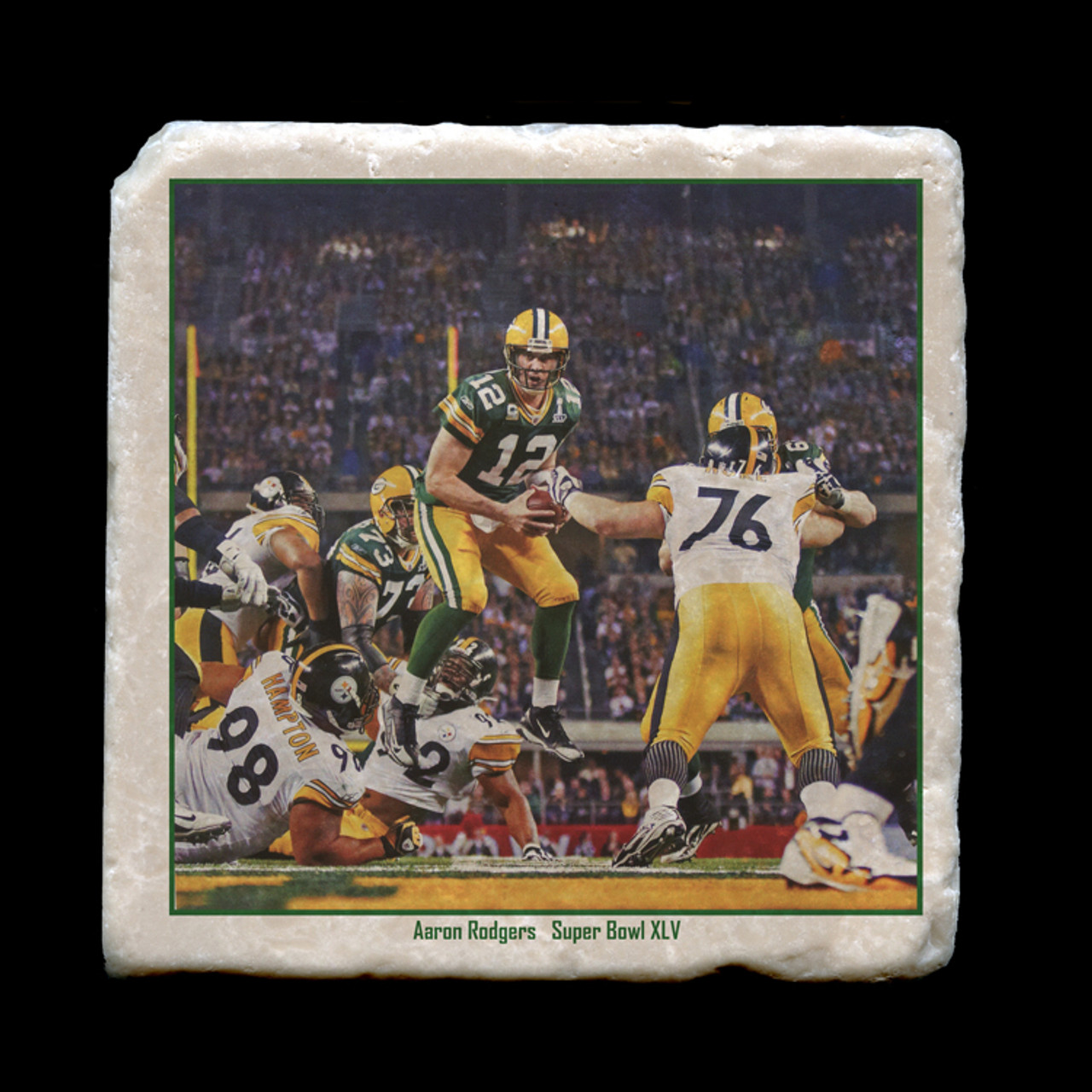 half off a2249 09606 AC09 Packers - Aaron Rodgers Super Bowl XLV - 4x4