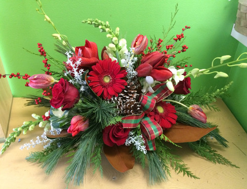 Custom Holiday Table Centerpiece